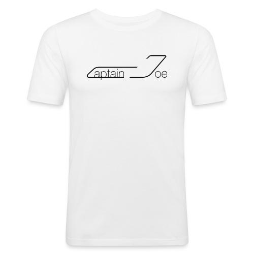 CaptainJoeLogo - Männer Slim Fit T-Shirt