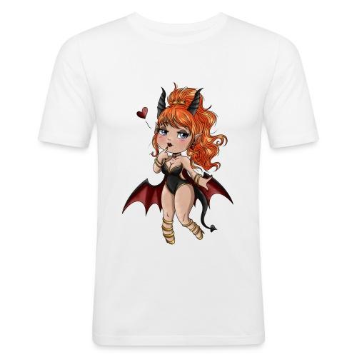 Chibi Diablesse - T-shirt près du corps Homme