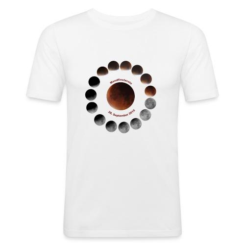 Mondfinsternis 2015 - Männer Slim Fit T-Shirt