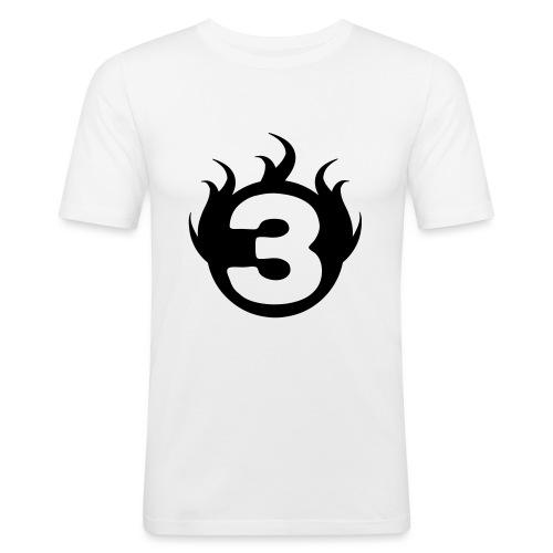 shoulder logoc - T-shirt près du corps Homme
