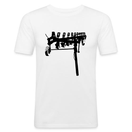 trailed plow - Men's Slim Fit T-Shirt