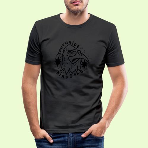 OG EAGLE - Miesten tyköistuva t-paita