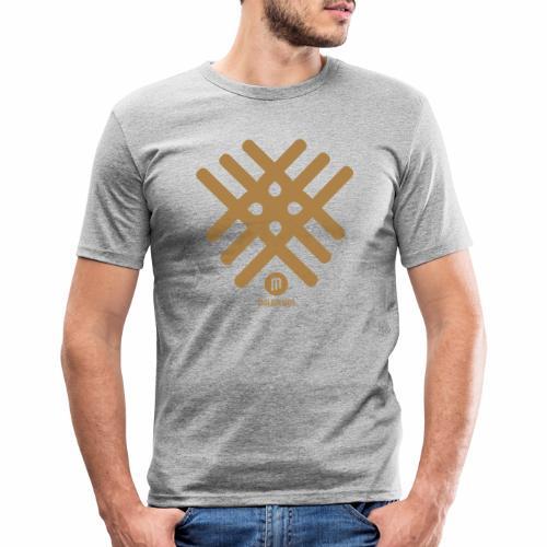 Maladesign - Miesten tyköistuva t-paita
