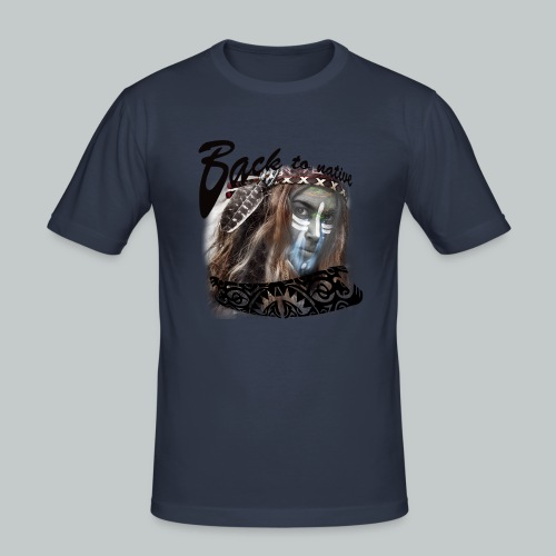 progress2 - Mannen slim fit T-shirt