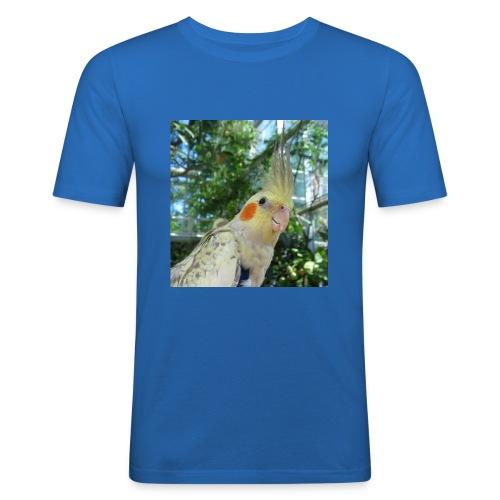 ninjanen - Miesten tyköistuva t-paita