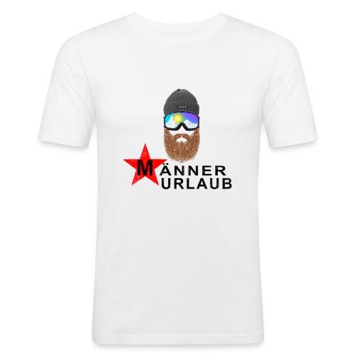 Männerurlaub - Männer Slim Fit T-Shirt