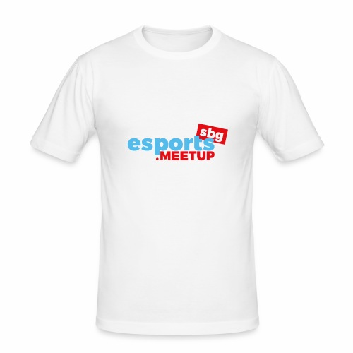 esports meetup sbg - Männer Slim Fit T-Shirt