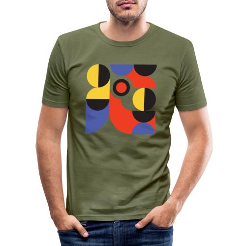 Bauhaus no 1 - Herre Slim Fit T-Shirt