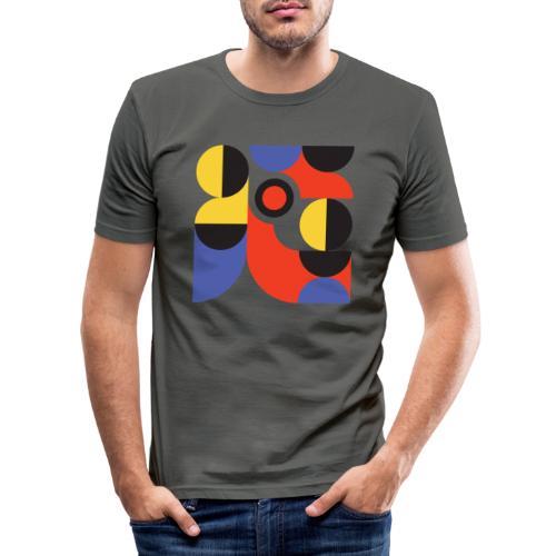 Bauhaus no 1 - Herre Slim Fit T-Shirt