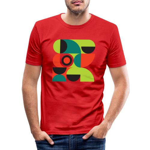 Bauhaus no 2 - Herre Slim Fit T-Shirt