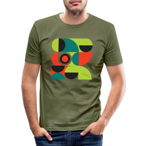 Bauhaus no 2 - Herre Slim Fit T-Shirt