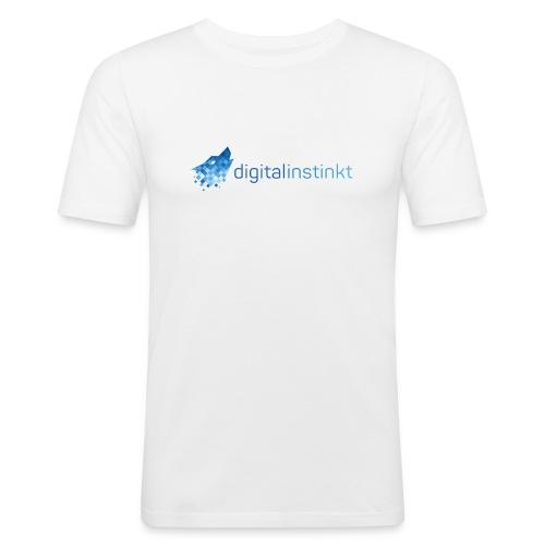 digitalinstinkt® Logo - Männer Slim Fit T-Shirt