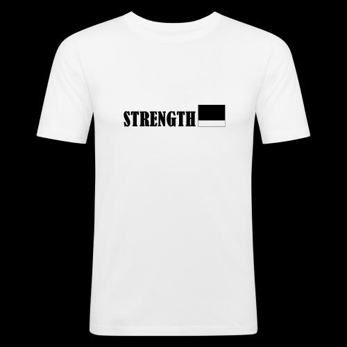 STRENGTH - Miesten tyköistuva t-paita