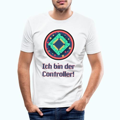 I am the controller - Men's Slim Fit T-Shirt
