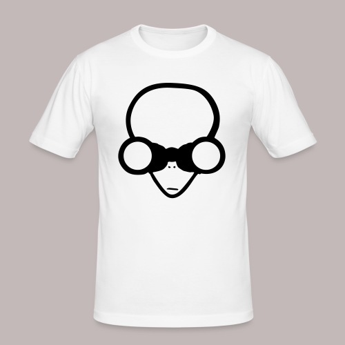 Peeper Alien - Männer Slim Fit T-Shirt