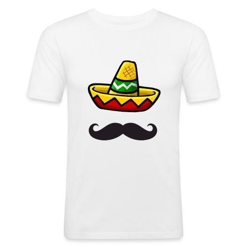 Fantôme mexicain - T-shirt près du corps Homme