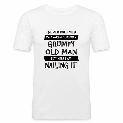 Grumpy 1 - Herre Slim Fit T-Shirt