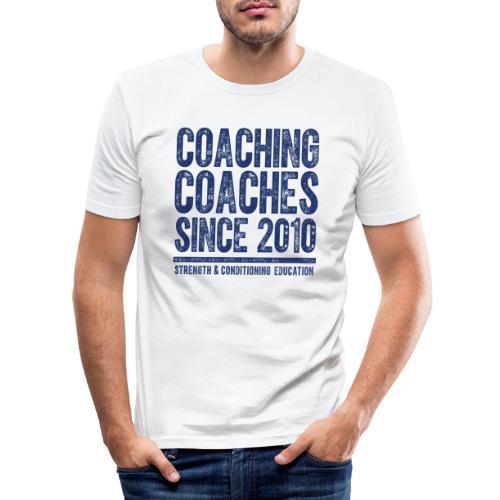 COACHING COACHES SINCE 2010 - Men's Slim Fit T-Shirt