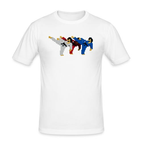 8 bit trip ninjas 2 - Men's Slim Fit T-Shirt