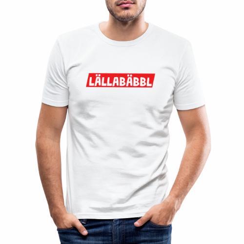 Lällabäbbl - Männer Slim Fit T-Shirt