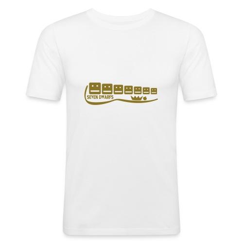 Seven Dwarfs - Männer Slim Fit T-Shirt