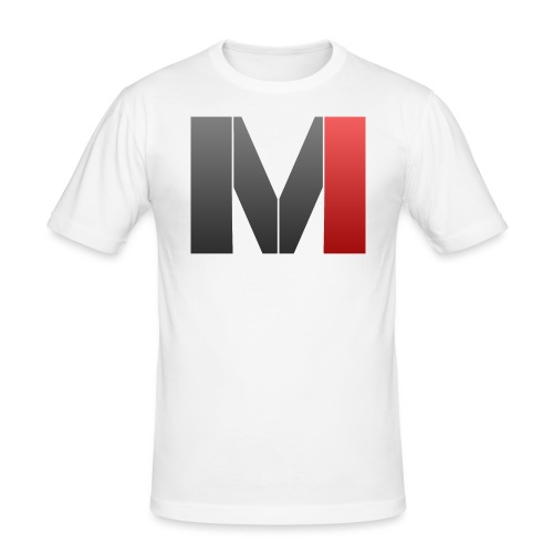 MrGank LOGO - Men's Slim Fit T-Shirt