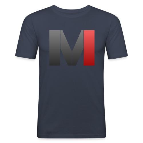 MrGank LOGO - Men's Slim Fit T-Shirt
