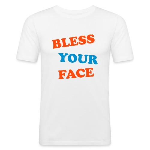Bless - Men's Slim Fit T-Shirt