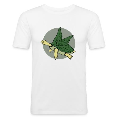 Flying Turtle - Men's Slim Fit T-Shirt