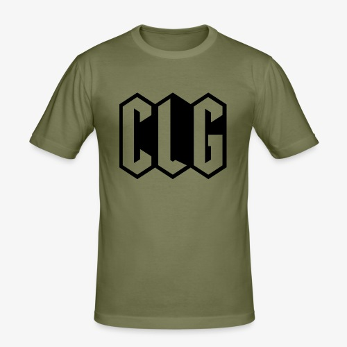 CLG DESIGN black - T-shirt près du corps Homme