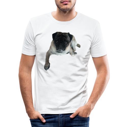 Pug carlino shirt - Camiseta ajustada hombre