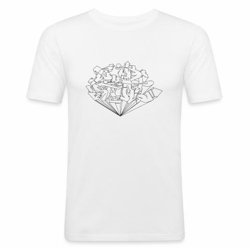 wild style ver01 Trick Aod - Herre Slim Fit T-Shirt