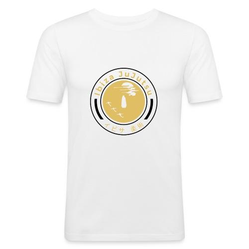 Classic circular logo for Ibiza JuJutsu - Men's Slim Fit T-Shirt