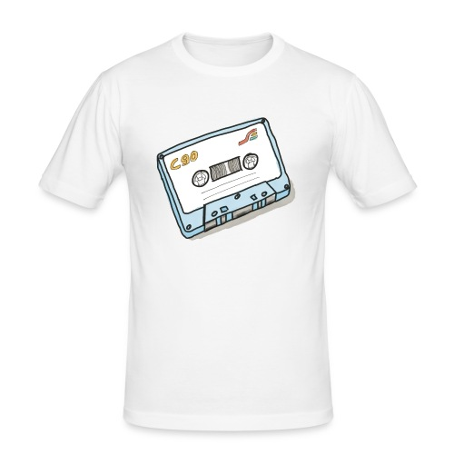 Cassette - Männer Slim Fit T-Shirt