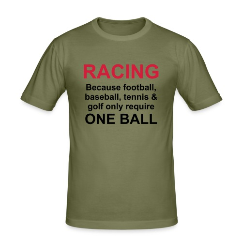 balls_001 - Männer Slim Fit T-Shirt
