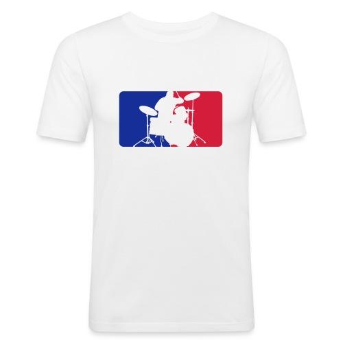 drummersport ohnehntrgrnd - Männer Slim Fit T-Shirt