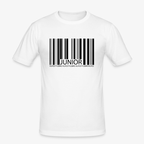 THE BARCODE - Männer Slim Fit T-Shirt