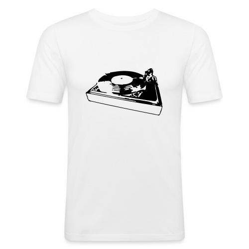 Plattenspieler - Männer Slim Fit T-Shirt