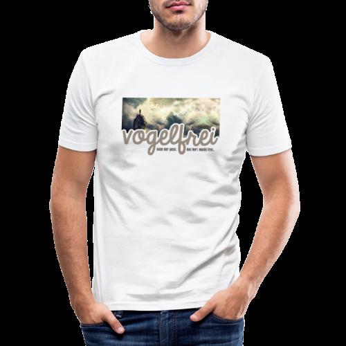 geweihbär Vogelfrei 3 - Männer Slim Fit T-Shirt