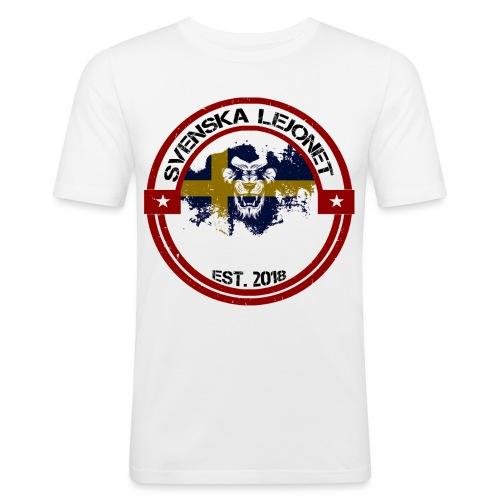 Svenska Lejonet EST 2018 - Slim Fit T-shirt herr