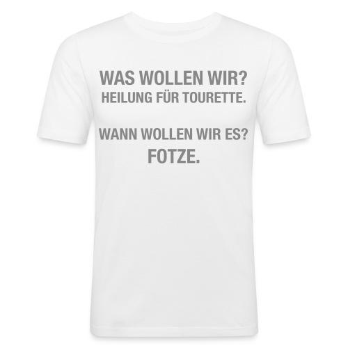 Tourette - Männer Slim Fit T-Shirt