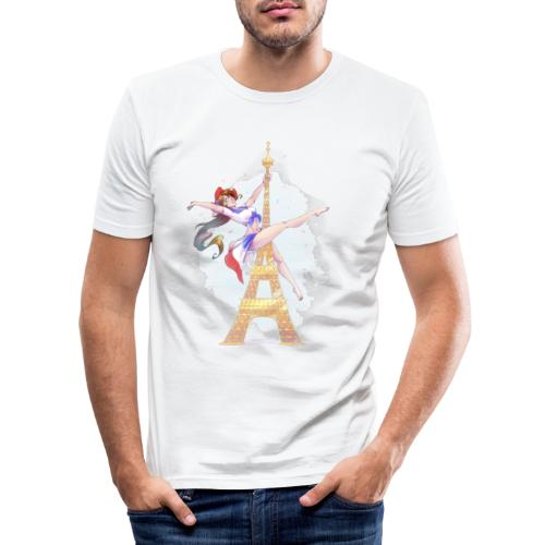 Pole Dance Marianne - Men's Slim Fit T-Shirt
