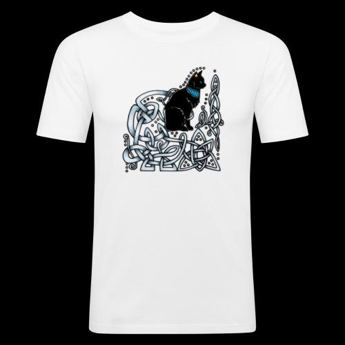 Celtic Cat - Men's Slim Fit T-Shirt