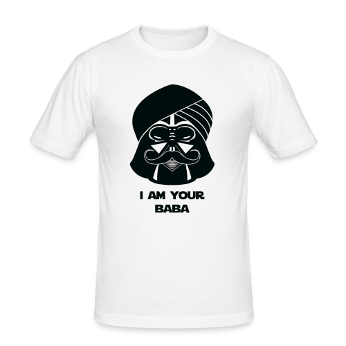 baba_tshirt-01 - Men's Slim Fit T-Shirt
