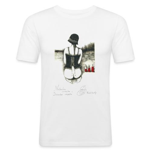 Nalewka Elżbieta Radzikowska - Obcisła koszulka męska