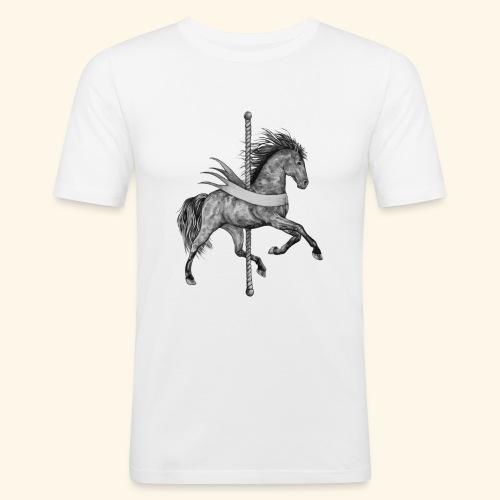 Carousel Horse - Men's Slim Fit T-Shirt