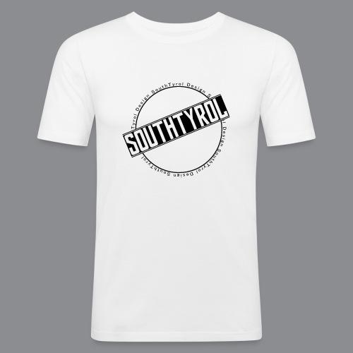 SouthTyrol Kreisform - Männer Slim Fit T-Shirt