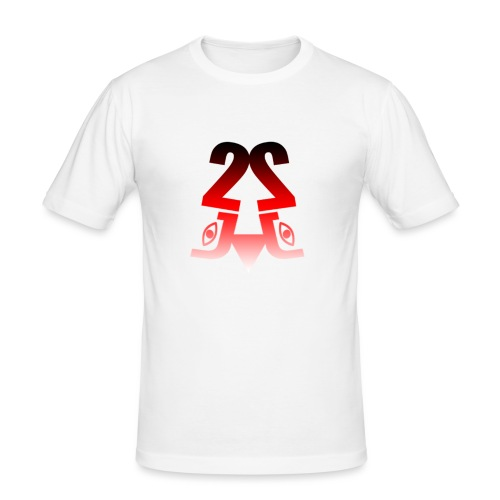 2J Logo fade - Herre Slim Fit T-Shirt