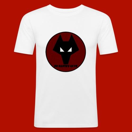 De Danske Ulve Hættetrøje - Herre Slim Fit T-Shirt