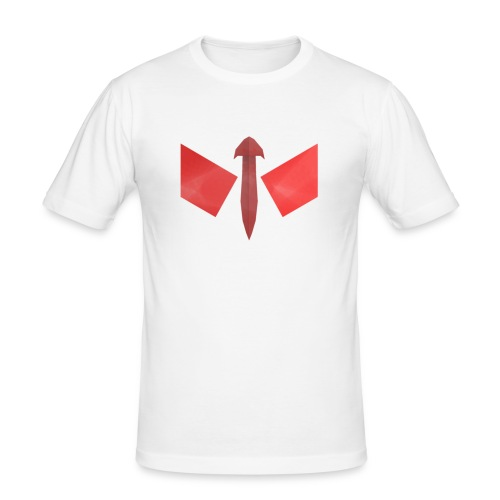 butterfly-png - Mannen slim fit T-shirt